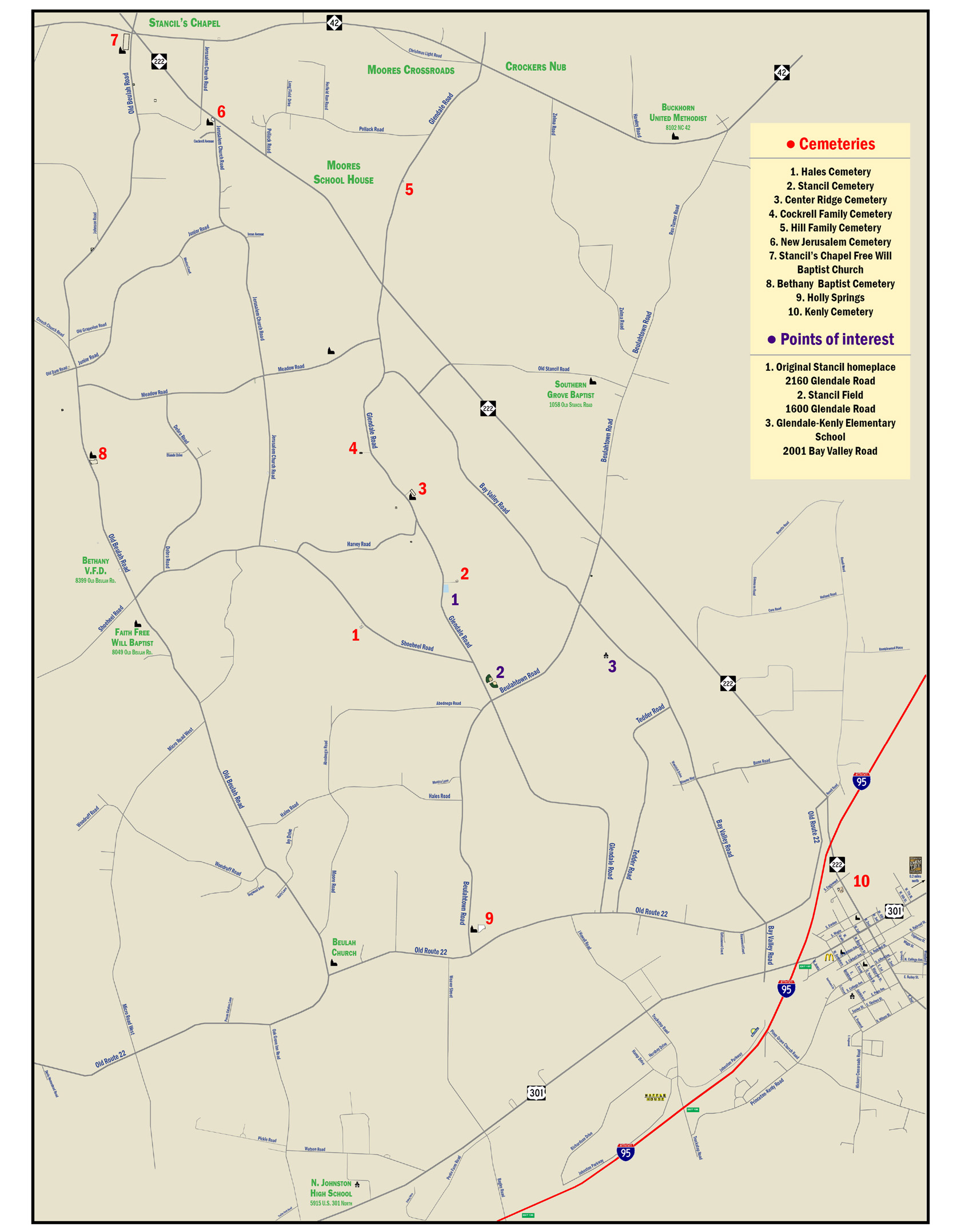 Stancil Family Cemeteries
